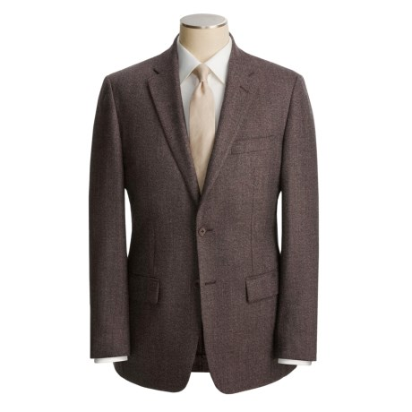 John Varvatos Star USA Donegal Tweed Sport Coat (For Men) in Dark Brown
