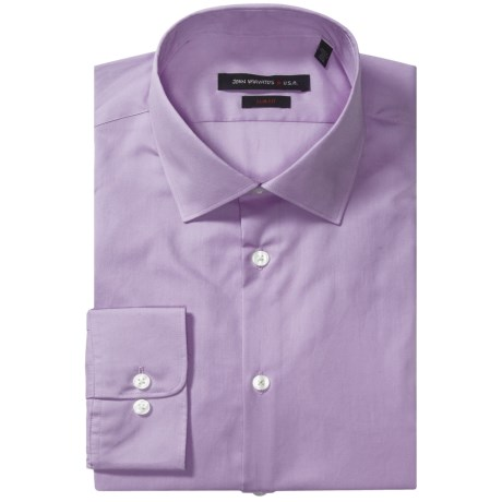 John Varvatos Star USA Dress Shirt - Slim Fit, Long Sleeve (For Men) in Lilac