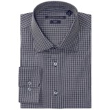John Varvatos Star USA Mini Check Dress Shirt - Slim Fit, Long Sleeve (For Men)
