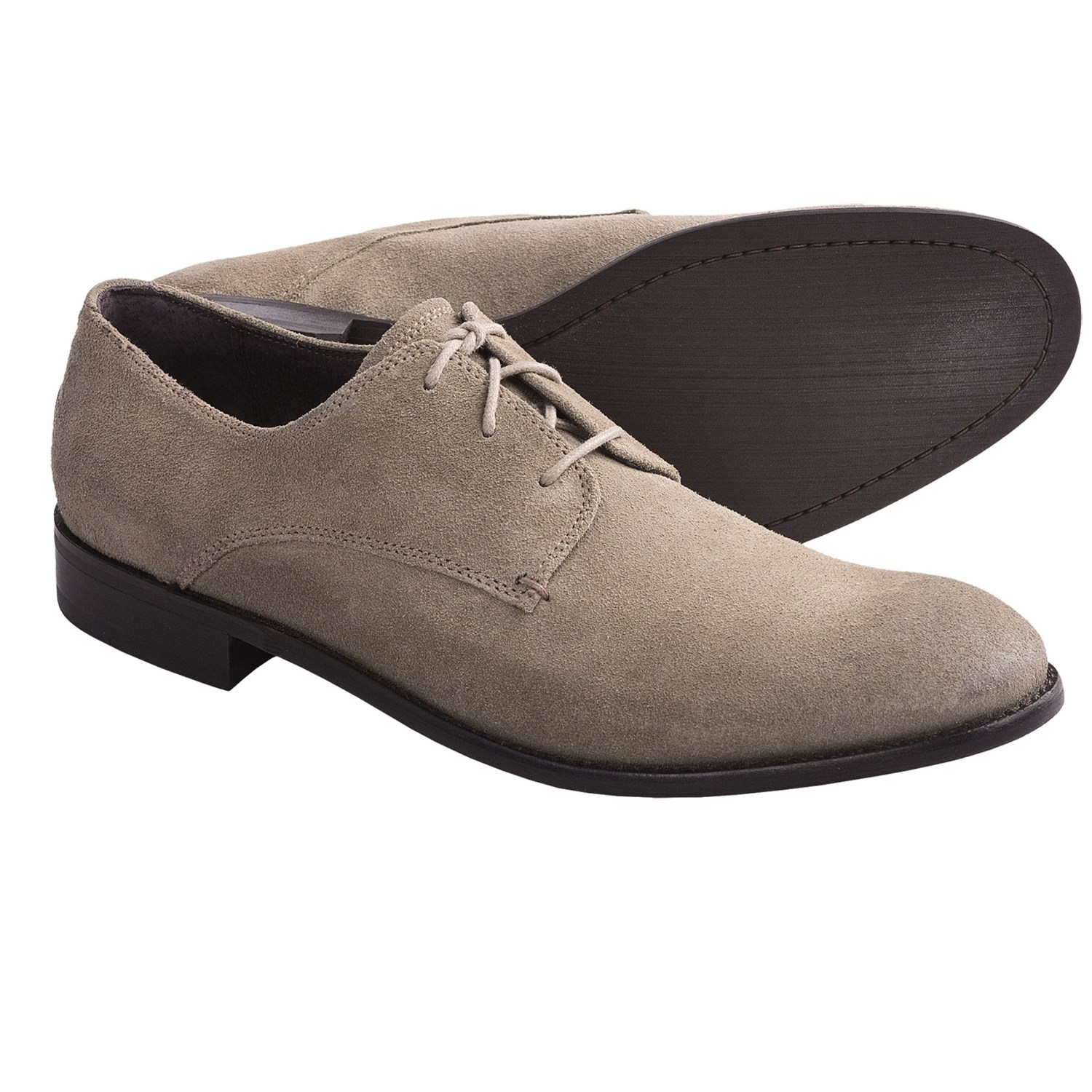 John Varvatos Star USA Sid Buck Oxford Shoes - Suede (For Men) in Wet
