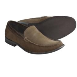 John Varvatos Star USA Side Buck Venetian Loafer Shoes - Suede (For Men) in Oxide