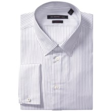 John Varvatos Star USA Striped Dress Shirt - Slim Fit, Long Sleeve (For Men) in Morning Rain - Closeouts