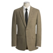 John Varvatos Star USA Tweed Sport Coat - Partially Lined (For Men) in Med Brown Tick - Closeouts