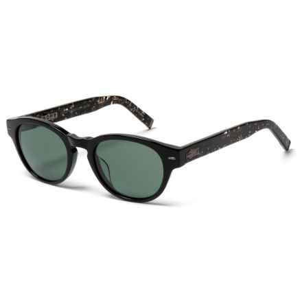 John Varvatos V 794 Sunglasses (For Men) in Black - Closeouts