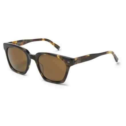 John Varvatos V 796 Universal Fit Sunglasses (For Men) in Brown/Brown - Closeouts
