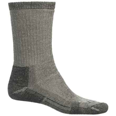 John Wayne Elite Hiker Socks - Merino Wool, Crew (For Men and Women) in Black - Closeouts