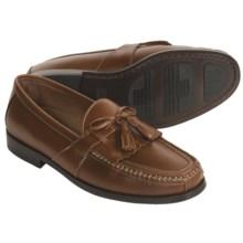 Johnston & Murphy Aragon II Kiltie Shoe - Tasseled Moccasin (For Men) in Tan - Closeouts