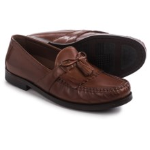 Johnston & Murphy Aragon II Kiltie Tassel Loafers - Leather, Slip-Ons (For Men) in Tan - Closeouts