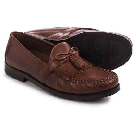 Johnston & Murphy Aragon II Kiltie Tassel Loafers - Leather, Slip-Ons (For Men) in Tan - Closeouts