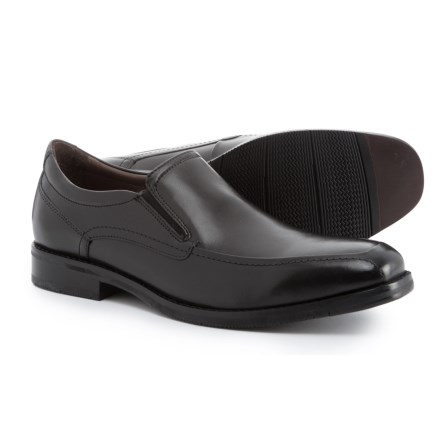 Johnston   Murphy Bartlett Moc-Toe Venetian Loafers (For Men) in Black - ba86aba5d4494