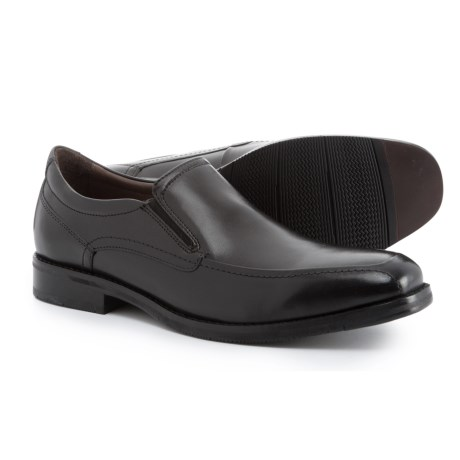 Johnston & Murphy Bartlett Moc-Toe Venetian Loafers (For Men) in Black