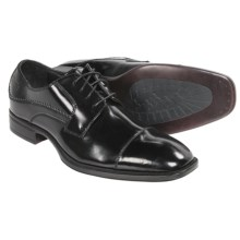 Johnston & Murphy Birchett Cap Toe Shoes - Oxfords (For Men) in Black - Closeouts