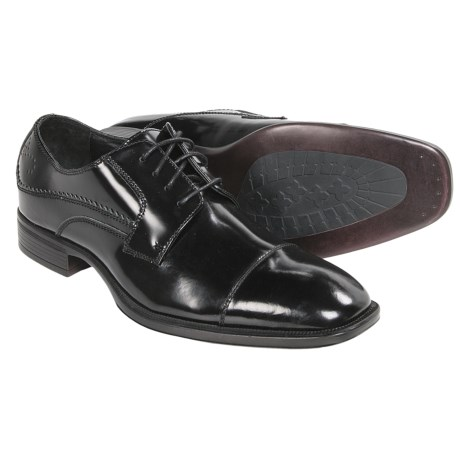 Johnston and Murphy Birchett Cap Toe Shoes Oxfords (For Men)