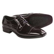 Johnston & Murphy Birchett Cap Toe Shoes - Oxfords (For Men) in Burgundy - Closeouts
