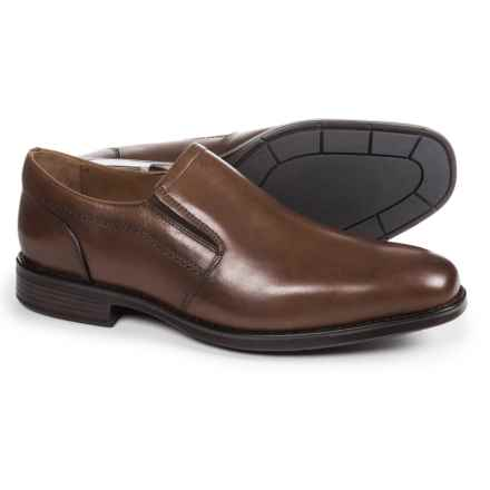 Johnston & Murphy Branning Venetian Loafers - Waterproof, Leather (For Men) in Mahogany - Closeouts