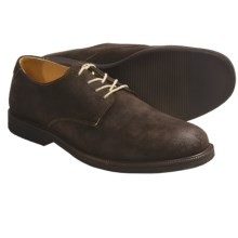 Johnston & Murphy Brennan Shoes - Suede, Oxfords (For Men) in Dark Brown Suede - Closeouts