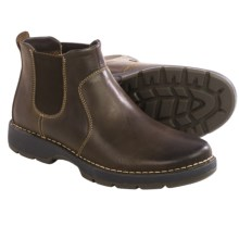 Johnston & Murphy Byatt Chelsea Boots - Leather (For Men) in Brown - Closeouts