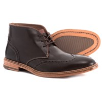 Johnston & Murphy Campbell Wingtip Chukka Boots Leather For Men Deals