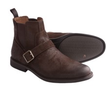 Johnston & Murphy Cardell Ankle Boots (For Men) in Chocolate - Closeouts