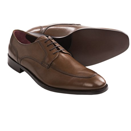 Johnston & Murphy Carlock Moc Toe Shoes - Oxfords (For Men) in Tan