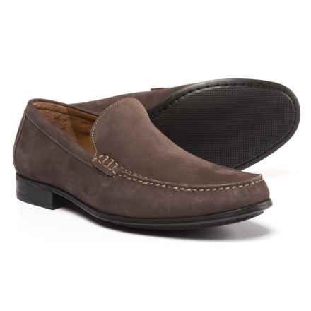 Johnston & Murphy Cresswell Venetian Loafers - Nubuck (For Men) in Gray - Closeouts