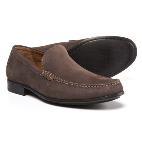 Johnston & Murphy Cresswell Venetian Loafers - Nubuck (For Men)