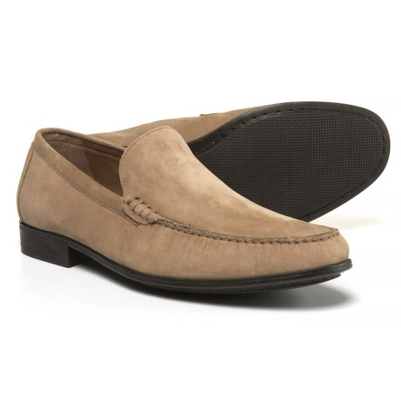 9fe3a7e768a Johnston & Murphy Cresswell Venetian Loafers - Nubuck (For Men) in Sand -  Closeouts