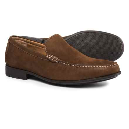 Johnston & Murphy Cresswell Venetian Loafers - Nubuck (For Men) in Tan - Closeouts