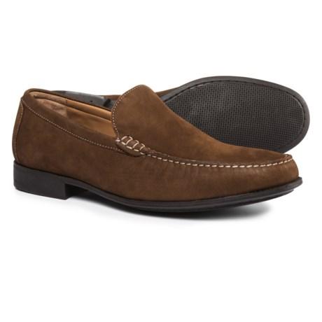 Johnston & Murphy Cresswell Venetian Loafers - Nubuck (For Men) in Tan