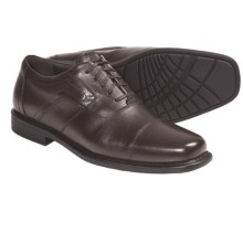 Johnston & Murphy Cullis Shoes - Cap Toe (For Men) in Dark Brown - Closeouts