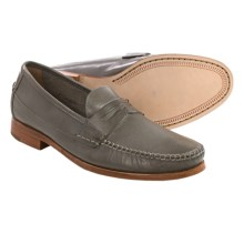 Johnston & Murphy Danbury Penny Loafers (For Men) in Dark Grey - Closeouts