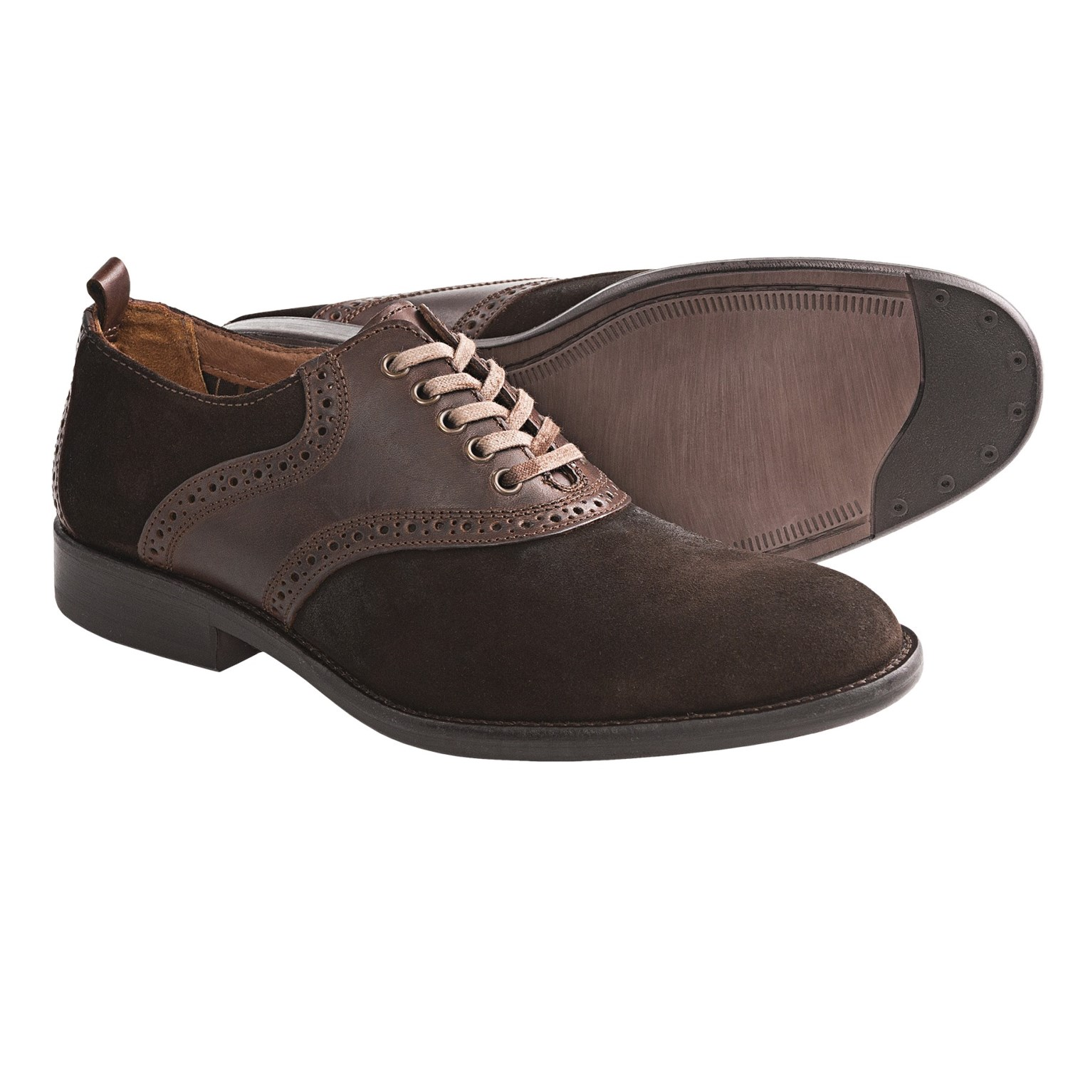 johnston and murphy decatur saddle shoes oxfords for