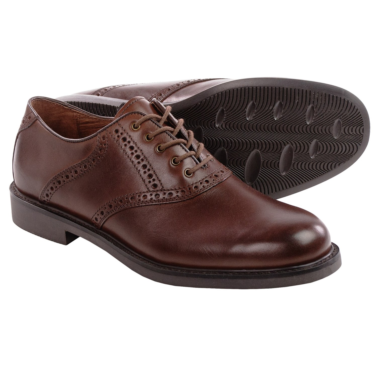 Mens Oxfords. If you're looking for a shoe that you can easily pair with any style ranging from a casual weekend to a formal event, look no further than a men's Oxfords. Excellent Wear to Work Shoe For a classic shoe that pairs well with everything from dress pants to khakis, consider a men's Oxfords shoe by designers such as Johnston & Murphy.
