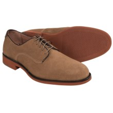 Johnston & Murphy Ellington Shoes - Plain Toe Suede (For Men) in Tan - Closeouts