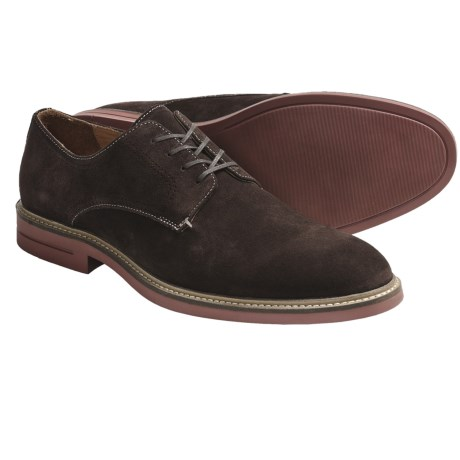 Johnston & Murphy Garris Plain Toe Shoes - Oxfords (For Men) in Chocolate