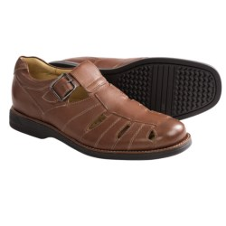 Johnston & Murphy Golson Fisherman Sandals (For Men) in Tan