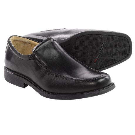 Johnston and Murphy Goodwin Venetian Loafers Italian Leather, Moc Toe (For Men)