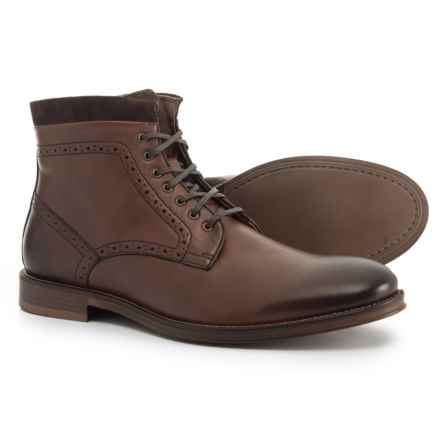 Johnston & Murphy Grayson Zip Boots - Leather (For Men) in Brown - Closeouts