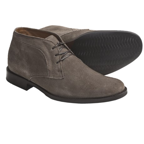 Johnston & Murphy Headley Chukka Boots - Suede (For Men) in Taupe Suede