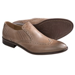 Johnston & Murphy Holbrook Wingtip Venetian Shoes - Slip-Ons (For Men) in Sand