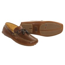 Johnston & Murphy Kenney Driving Moccasin Shoes (For Men) in Dk Brown - Closeouts