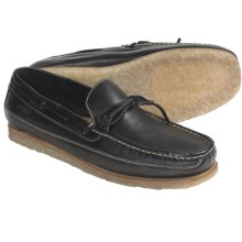 Johnston & Murphy Kholson Moccasins - Leather (For Men) in Black - Closeouts