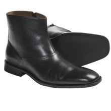 Johnston & Murphy Knowland Boots - Leather, Plain Toe (For Men) in Black - Closeouts