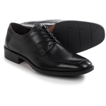 Johnston & Murphy Landrum Moc-Toe Shoes - Leather, Lace-Ups (For Men) in Black - Closeouts