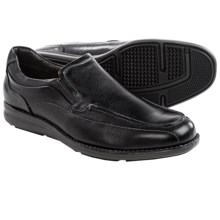 Johnston & Murphy Lanning Loafers - Leather (For Men) in Black - Closeouts