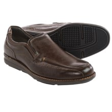 Johnston & Murphy Lanning Loafers - Leather (For Men) in Mahogany - Closeouts