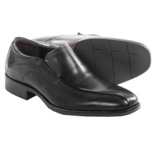 Johnston & Murphy Larsey Runoff Loafers - Leather, Slip-Ons (For Men) in Black - Closeouts