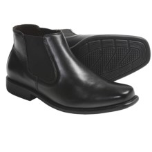Johnston & Murphy Macomb Ankle Boots - Leather (For Men) in Black - Closeouts