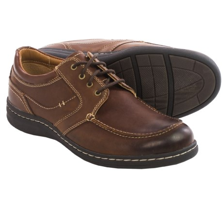 Johnston and Murphy McCarter Moc Toe Shoes Leather (For Men)