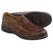 Johnston & Murphy McCarter Shoes - Leather, Slip-Ons (For Men) in Brown - Closeouts